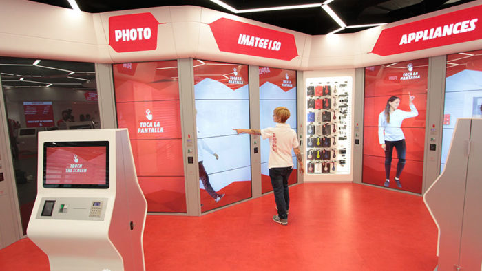 "Der ""Digitale Store"" von Media Markt in Barcelona (Foto: Media Markt Saturn Retail Group)"