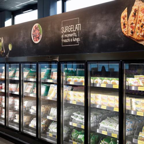 Abbildungen von Lebensmitteln emotionalisieren den Store
