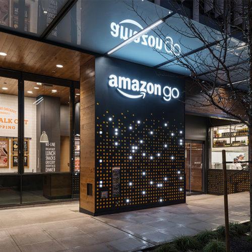 Während der Testphase haben nur Angestellte von Amazon Zutritt zum Markt. (Foto: Amazon)
