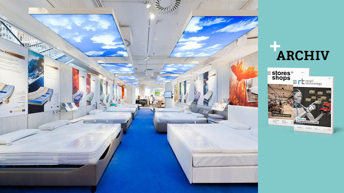 Reiter Betten Mit Digitalem Store Konzept Stores Shops
