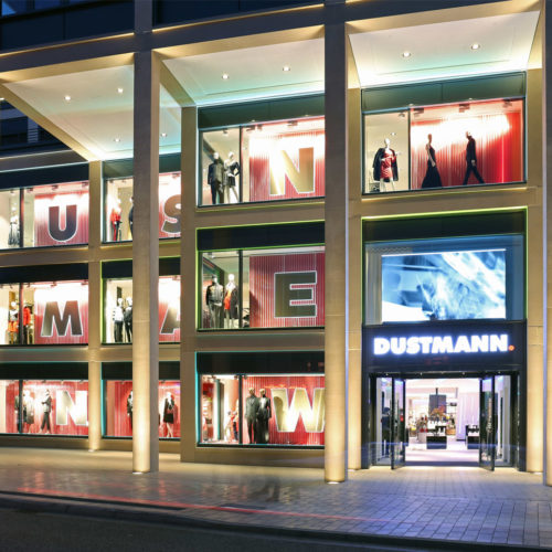 Der neue Dustmann-Store soll Strahlkraft weit über Dortmund-Hombruch hinaus entfalten