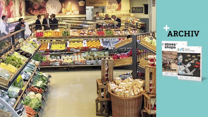 Der Nahversorger mit Restaurant soll vor allem berufstätige Geschäftsleute ansprechen, die zum Einkauf oder auf ein Menü vorbeikommen. (Foto: Umdasch Shopfitting Group)