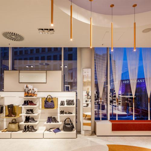 Inspiration für den Store: das 50er/60er-Jahre Design der Umgebung (Foto: Görtz)