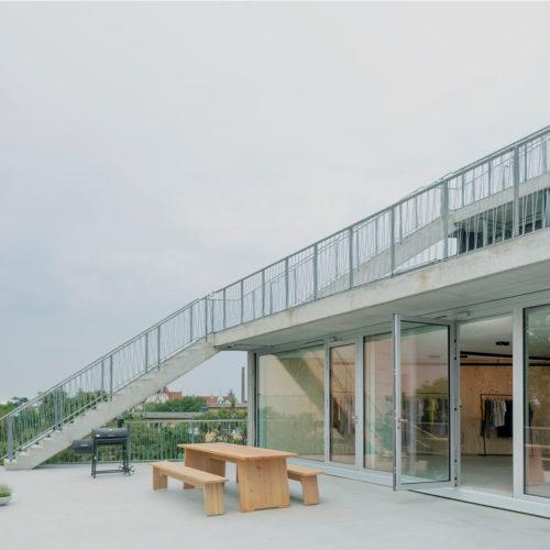 Das Atelierhaus Lobe-Block in Berlin-Wedding