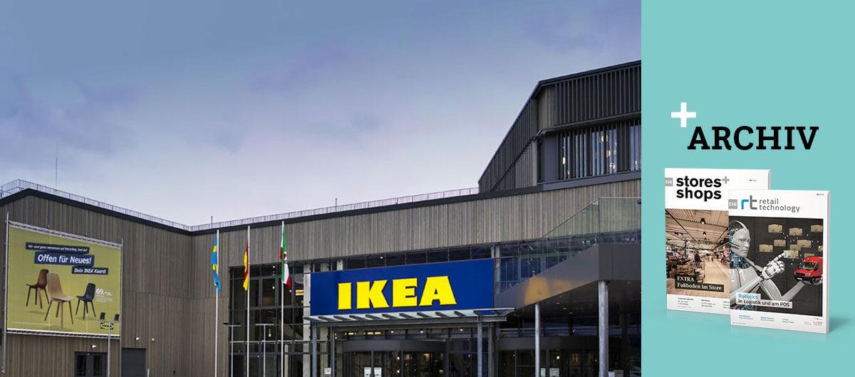 Ikea Eroffnet Nachhaltiges Einrichtungshaus Stores Shops