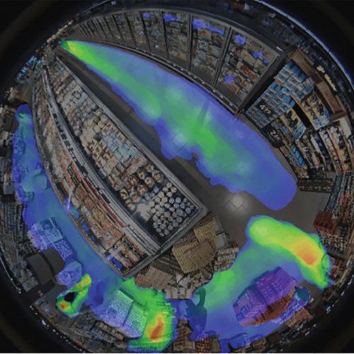 Mehrwert-Funktion Heatmapping (Foto: Stratocast)