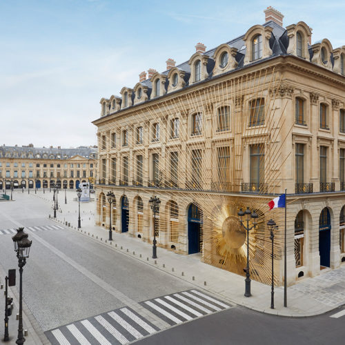 Das neue Flaggschiff befindet sich im Herzen des aristokratischen, luxuriösen Paris an der Place Vendôme N° 2 (Foto: Louis Vuitton)