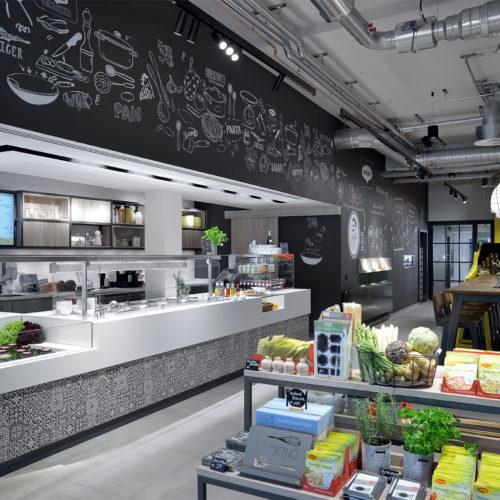 Sieger Concept Store: Maggi Kochstudio, Frankfurt