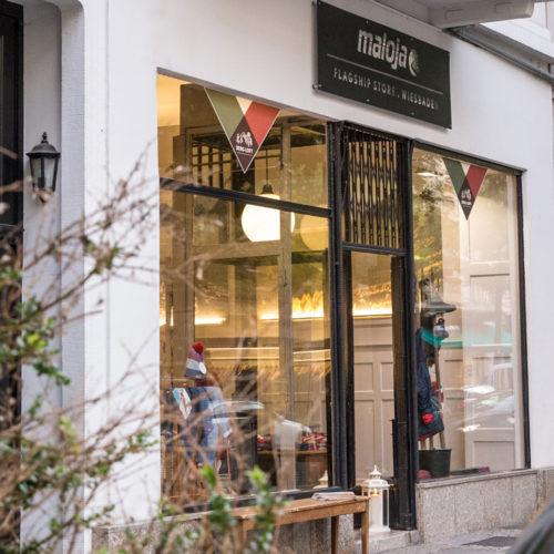 Der Maloja-Store wurde im September eröffnet.