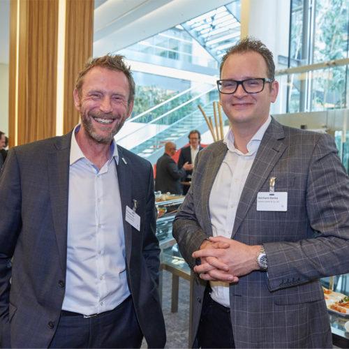 Thomas Frey (Personalpotential) im Gespräch mit Reinhard Blanke (Butlers)