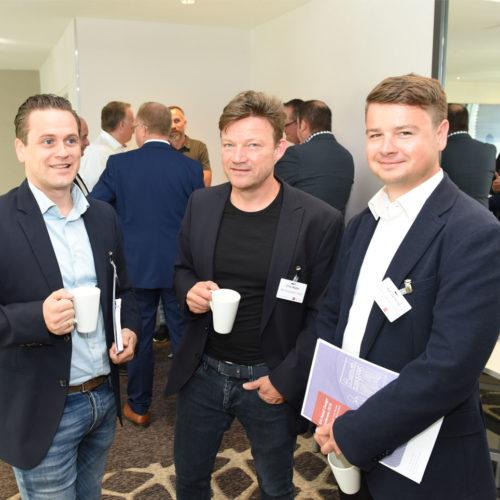 Ebenfalls dabei: Eric Windt, Erich Reuter und Karl Zembrod (alle Dirk Rossmann GmbH)