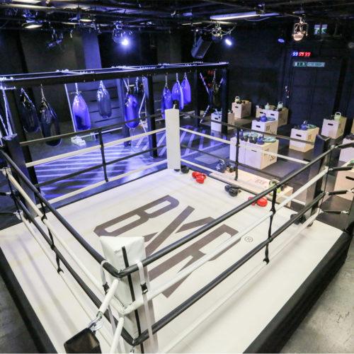 Der Boxring besteht aus 20 Stationen...(Foto: Selfridges)