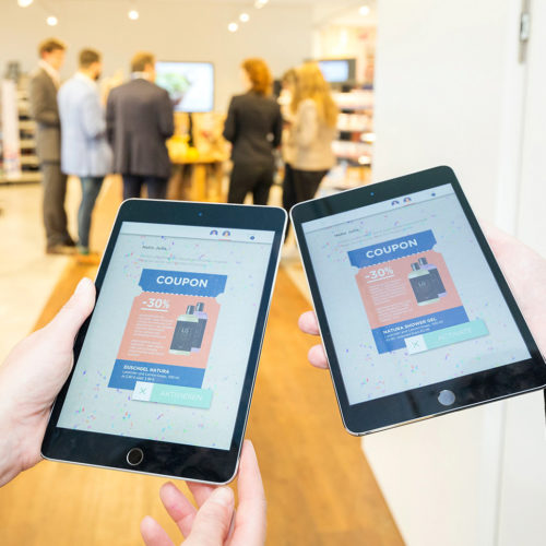 "Individualisierte Coupons für mobile Geräte in der ""Shopping Experience"" (Foto: GS1 Germany)"