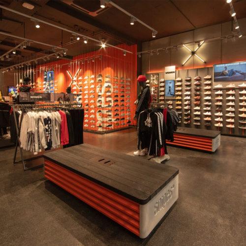 Snipes hat den ersten Store mit neuem Konzept eröffnet. (Foto: Snipes)
