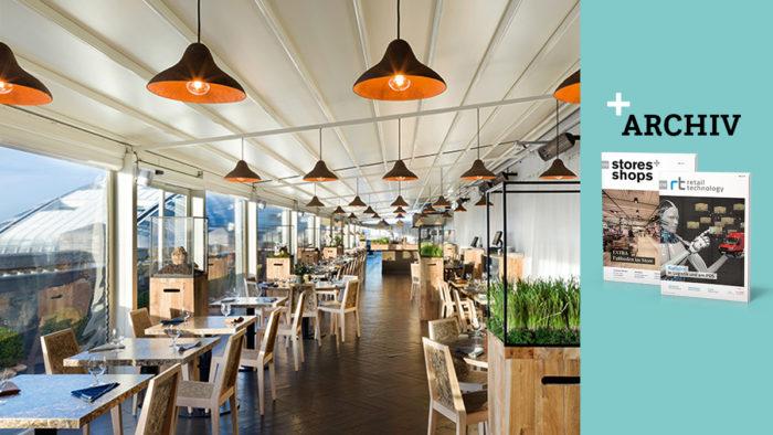 """Die """"Terroir""""-Lampen von Jonas Edvard und Nikolaj Steenfatt aus Algen und Papier schmückten das Pop-up-Restaurant """"wastED"""" bei Selfridges in London. (Foto: Blue Hill Farm/Irene Hamburger)"""