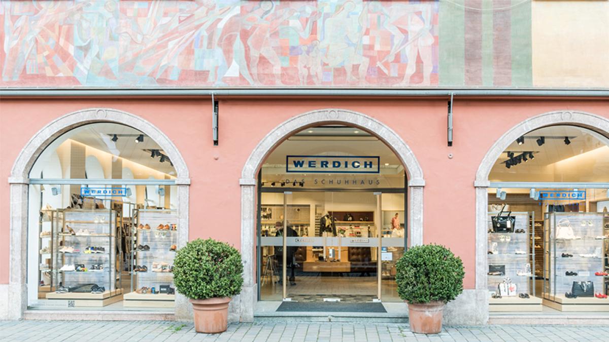 Schuhhaus Werdich mit neuem Storekonzept | stores+shops