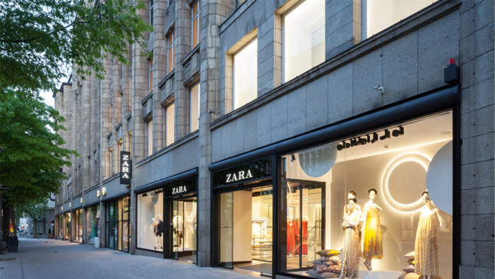 Zara setzt Augmented-Reality-Displays ein. (Foto: Trendone)