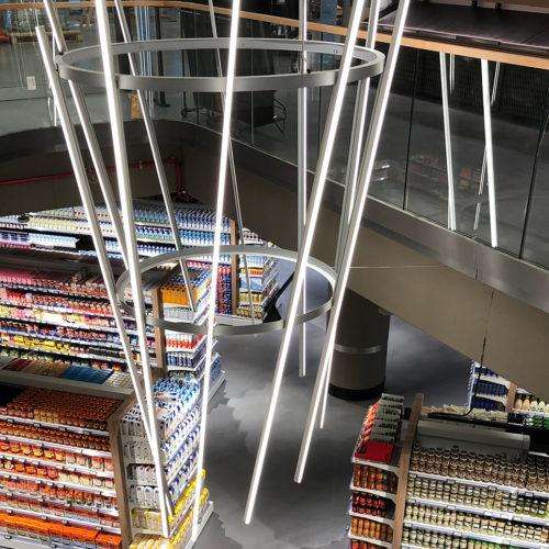 Blick in das Untergeschoss (Foto: Zurheide Feine Kost)